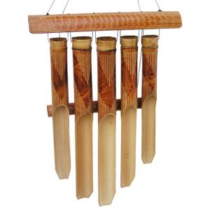Bali bamboo wind chimes