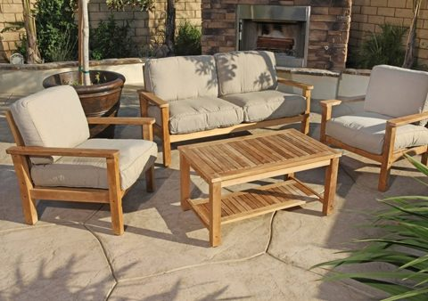 Teak furniture Preferred worldwide for indoor and outdoor furniture