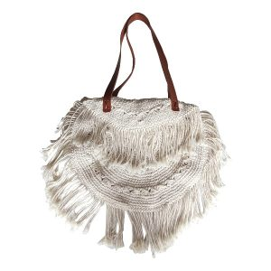 Bali macrame bag